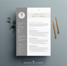 resume template 3page cv template cover letter for ms word