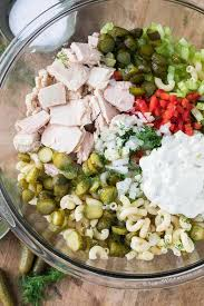 pasta salad with tuna pickled tuna macaroni salad spend with pennies