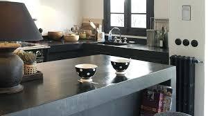 plan travail cuisine beton cire cuisine beton cire plan de travail bar avis idées pour la maison
