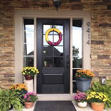 glass panel front door i36 all about epic small home decor