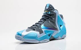 nike lebron xi gamma blue official look sole collector
