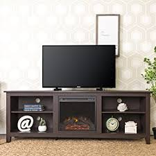 Fireplace Console Entertainment by Amazon Com We Furniture 70