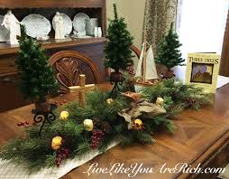 the tale of three trees as a center or mantlepiece live like you