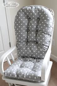 Rocking Chair Covers For Nursery Lovable Cushions For Rocking Chair With Rocking Chair Cushions