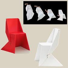 Cardboard Origami - 25 best origami images on furniture architects and books