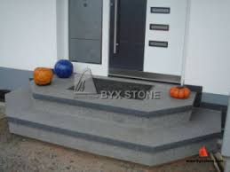 China Design Prefab Natural G654 Stone Granite Outdoor Steps