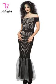 Skeleton Halloween Costume Women by Online Get Cheap Skeleton Costume Aliexpress Com Alibaba Group
