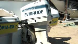 evinrude 115 hp ocean pro youtube