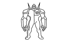 ben 10 pictures for drawing ben 10 way big coloring page free