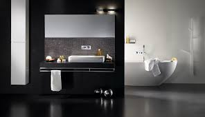 Black And White Bathroom Design Inspirations DigsDigs - Black bathroom design ideas
