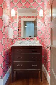 Wallpaper Designs For Bathrooms by Reasons To Love Retro Pink Tiled Bathrooms Hgtv U0027s Decorating