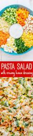chicken pasta salad recipe natashaskitchen com