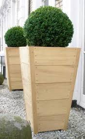 vive la france build a tall wooden planter wooden planters