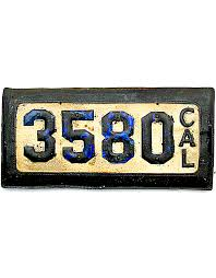 Maine State Vanity Plates Leather License Plate History