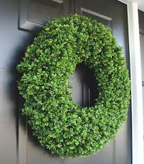 artificial boxwood wreath realistic artificial boxwood wreath 14 to 30 inch sizes