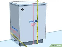 kitchen base cabinets size how to measure kitchen cabinets 11 steps with pictures