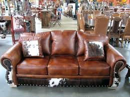 western leather sofa ivory leather sofas interior design southwestern western cowhide