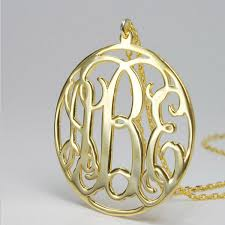 monogram initial necklace gold allah necklace custom monogram necklace gold circle pendant necklace