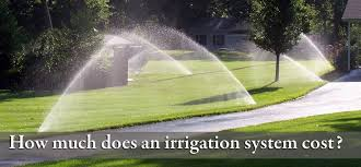 Sprinkler System Cost Estimate by Minneapolis Irrigation Systems Installation Maintenance Kg
