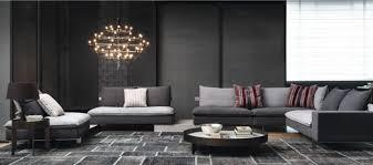 canape italien contemporain brico canape d angle italien gris taupe salon contemporain