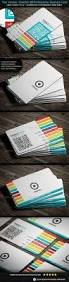 modern creative flat metro style with qr code business card