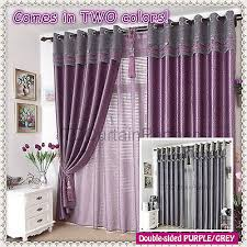 Grey And Purple Curtains Lovable Sheer Grey Curtains And Blackout Grey Gray Purple Violet