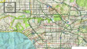 Griffith Park Map Map Vampire The Masquerade U2013 Bloodlines Wiki Fandom Powered
