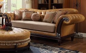 Antique Leather Sofas Sofas Center Fresco Durablend Traditional Antique Fabric Sofa