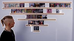 Vinyl Record Wall Mount Cd Wall Mount Build Youtube