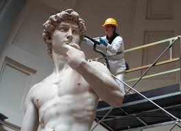 michelangelo david sculpture the spring cleaning of michelangelo s david magenta publishing