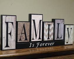 family letters etsy