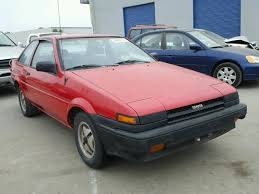 85 toyota corolla auto auction ended on vin jt2ae86s1f0115799 1985 toyota corolla