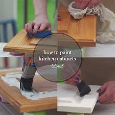 How To Repaint Kitchen Cabinets by Tutorials Country Chic Paint