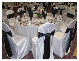 tablecloths and chair covers amazing black and white striped chair covers from decor added to