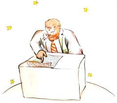 le petit prince au bureau le petit prince