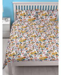 Betty Boop Duvet Set Wonder Woman Power Double Duvet Cover And Pillowcase Set Bedroom