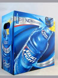 bud light bottle oz bud light 16oz aluminum bottles light lager
