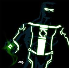 green lantern neon light dc tron mashup green lantern by sahinduezguen on deviantart