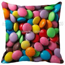 colour chocolate bean cheap price print car decorative throw