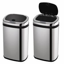 poubelles de cuisine automatique poubelle automatique à détecteur modèle 30 litres 33 x 25 x 54 5