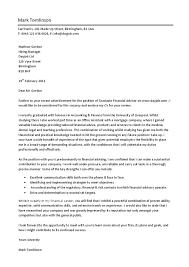 cover letter recent graduate