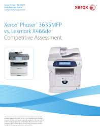 download free pdf for lexmark x466de multifunction printer manual