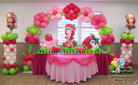 strawberry shortcake party supplies party decorations miami balloon sculptures
