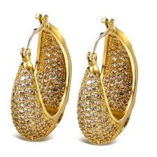 gold earrings for 21 wonderful gold earrings for women designs playzoa