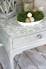 best 25 stenciled table ideas on pinterest stencil table