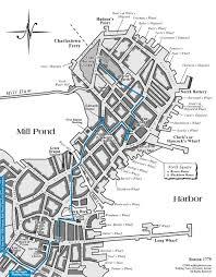 Boston Ferry Map by Boston Printable Tourist Map Sygic Travel Sydney Walks Map Sydney