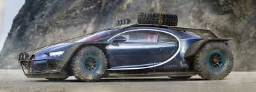 Bugatti Meme - designer reimagines the bugatti chiron as an otherworldly baja racer