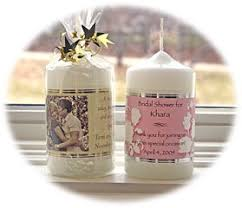 wedding candle favors a beautiful collection of wedding favors