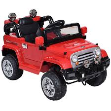 jeep cars red kids electrical vehicle toys online buy kids cars u0026 11cart