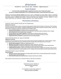 executive assistant resume exles executive assistant resume sle http www resumecareer info